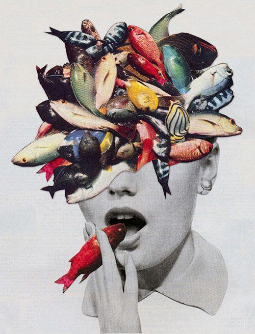 os Achados   Arte   Colagem   Eugenia Loli