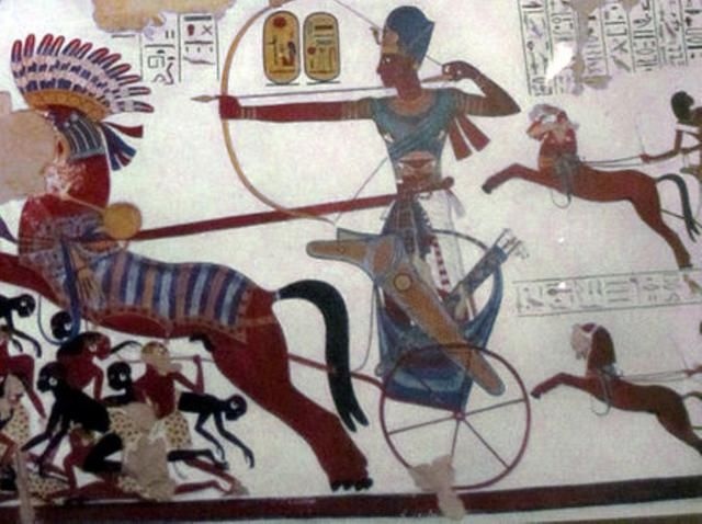Ancient Egypt: Battle of Kadesh: Ramses II