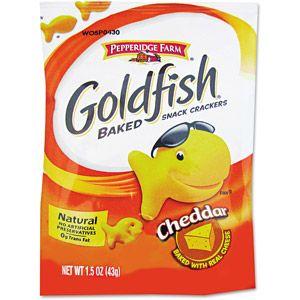 Pepperidge Farm Goldfish Cheddar Crackers, 72ct for $32.03 @ Walmart.com