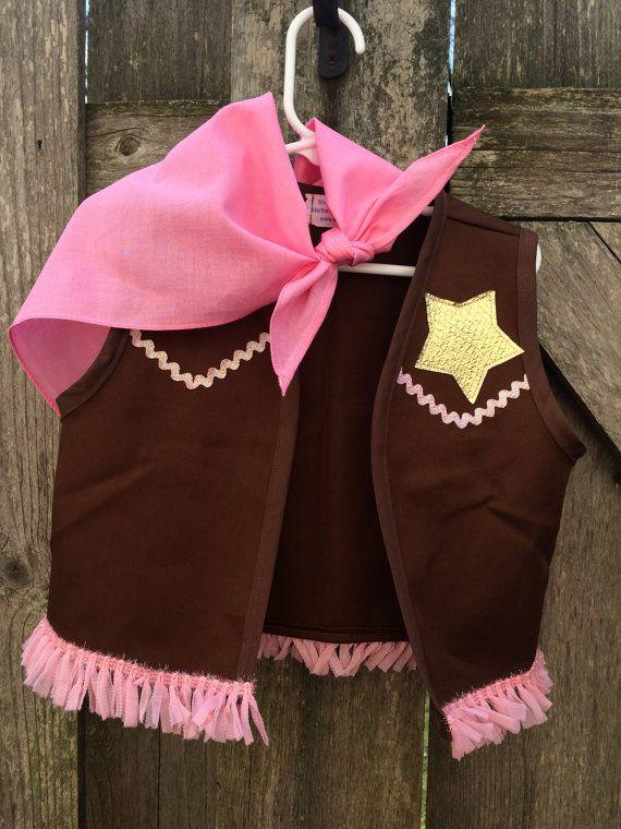 Sheriff Callie inspirado traje chaleco oro por Snugglebugaboo