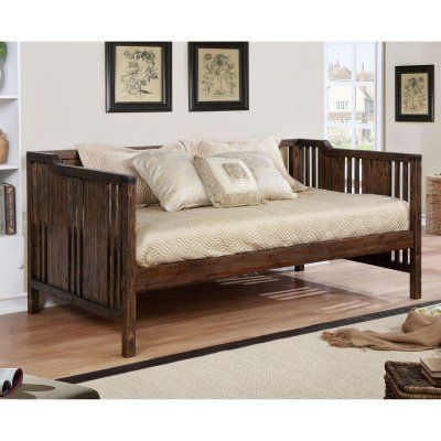 Furniture of America Reden Transitional Slatted Wooden Daybed - IDF-1767 - Best 25+ Wooden Daybed Ideas Only On Pinterest Girls Daybed