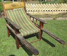 Vintage Wooden Squatters Verandah Chair 1930u0027s & 17 best Bench seats images on Pinterest | Bench Benches and Bench seat