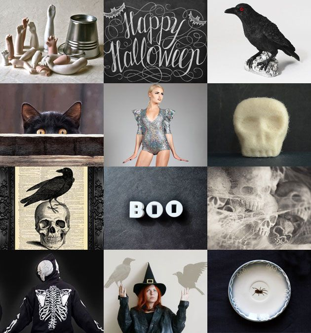 It's nearly here! Halloween items on Etsy