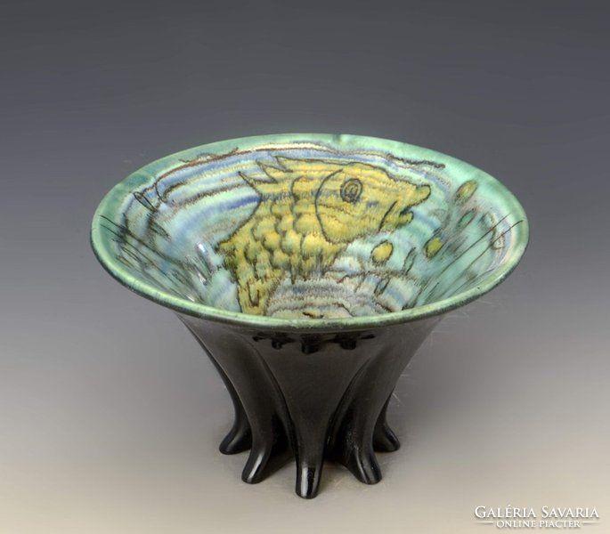 Gorka Géza tölcsér váza
