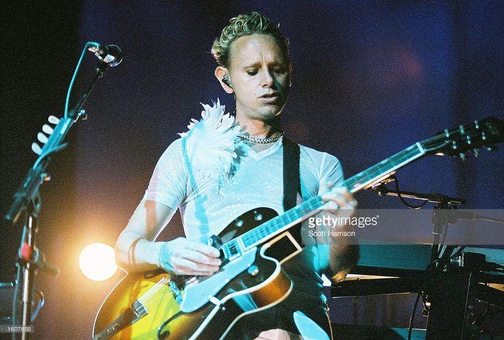 Martin Gore of Depeche Mode - Exciter Tour