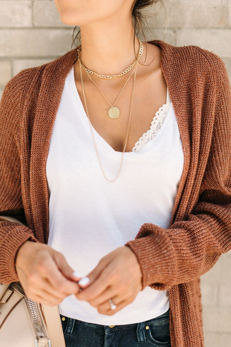 Obsessed with these gold layered necklaces