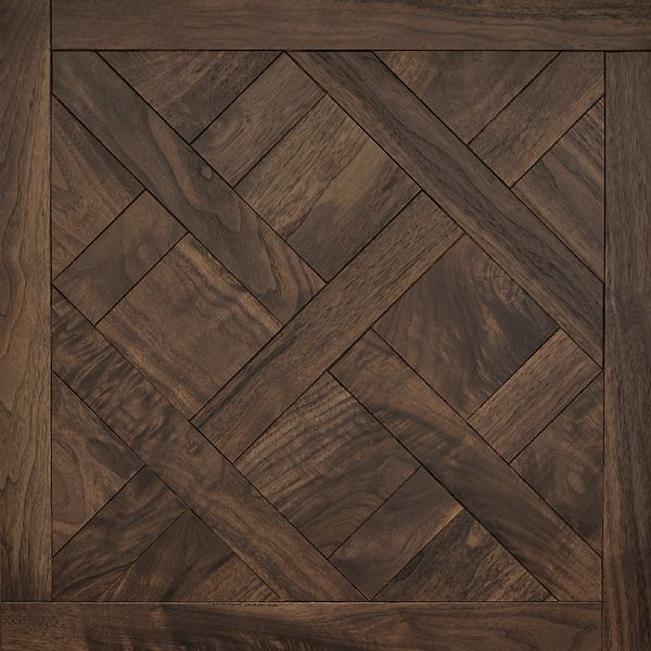 Classic American Walnut Versailles Mosaic Wood Floors