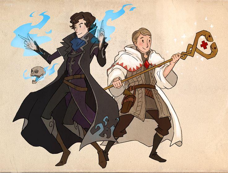 Sherlock meets fantasy adoribz