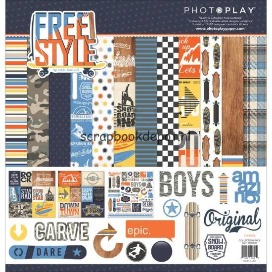Photo Play Freestyle - Collection Pack 12x12inch