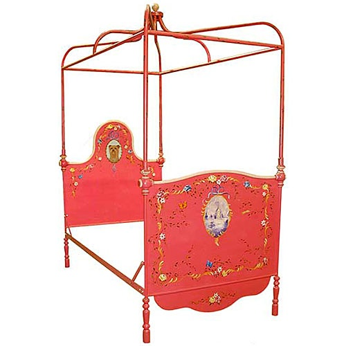 Luxury Kid Furnishings Including Armoires : Childrens Beds at PoshTots - Birdcage inspired canopy top.