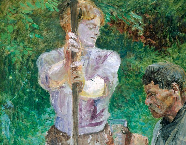 Jacek Malczewski - The well (1912)