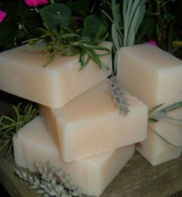 chagrin valley soaps...love their shampoo bars! My hair is in love :)
