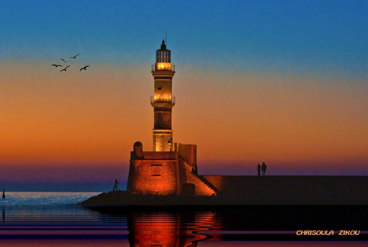 "500px / Photo ""SUNSET IN CRETE"" by Chriss Zikou"