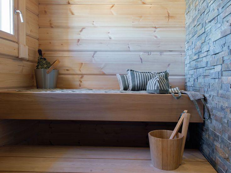 Sauna / handwoven head rest, mat, sauna hat