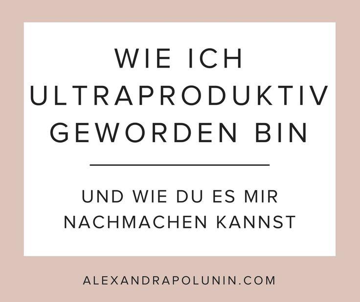 Willst du endlich produktiver arbeiten? Ich verrate dir mein Geheimrezept für mehr Produktivität, Effektivität und Effizienz.