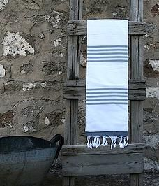 Hamam towel grey