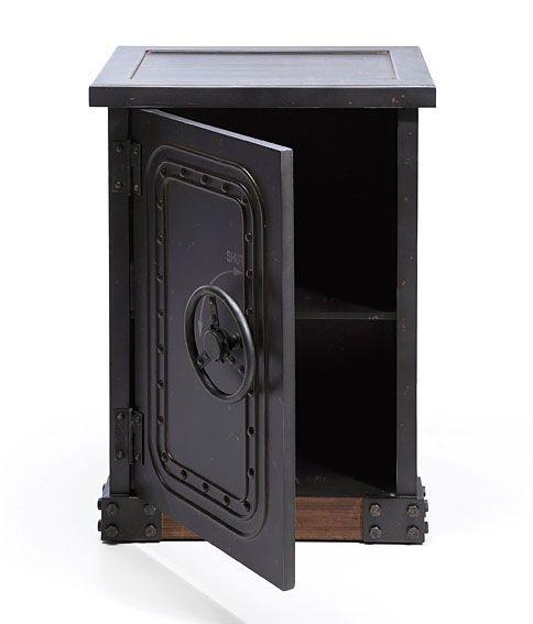 Mueble Auxiliar Caja Fuerte Material:Estructura DMF , HierroPeso: 17kg.... Eur:335 / $445.55