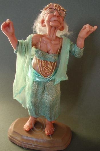 Annie Wahl OOAK polymer Doll -My future me lol!