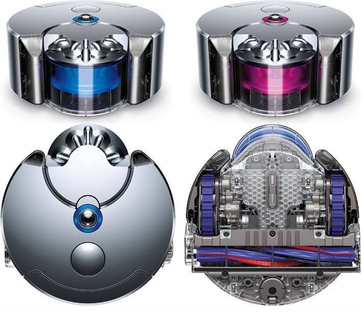 Eye robot dyson dyson или hoover