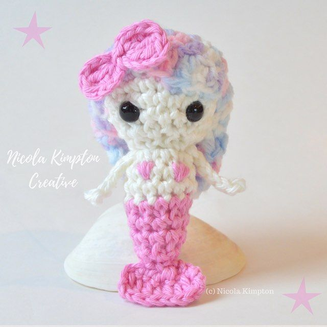 Super cute one-of-a-kind miniature mermaid doll with rainbow hair and pink bow. 🌊💝 Do you want to adopt this lovely mermaid? Send me a DM, she'd love to be your friend! 💝💝 . #nicolakimpton #babygift #mermaidlife #mermaid #nurserydecor #mermaidtail #beach #crochetmermaid #nursery #spiritual #unicorn #nurserydecor #nurseryinspo #mermaidsofinstagram #mermaidhair #newzealand #mermaids #oceandecor #mermaidinspiration #unicorns #beachdecor #rainbowhair #homedecor #nzmade #gift #kawaii…