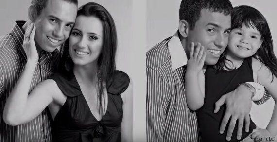 Was vier Jahre später mit diesem Verlobungs-Bild passiert, ist unglaublich ergreifend #liebe #love #vater #tochter