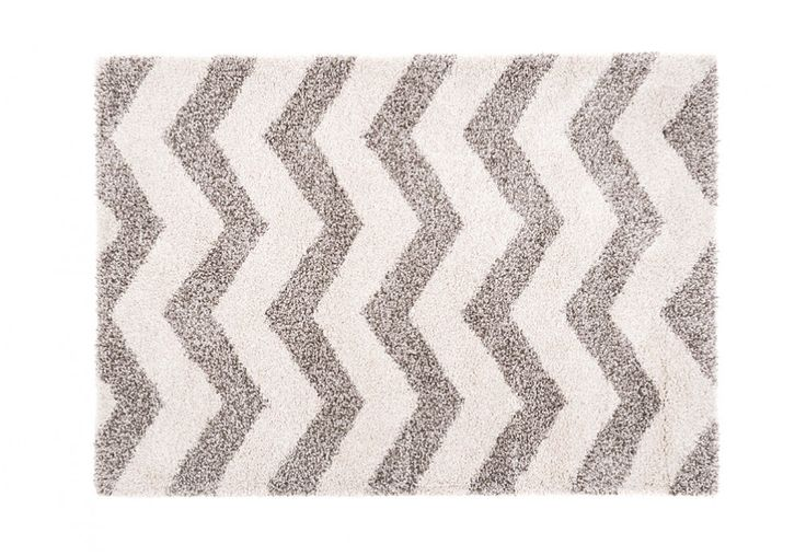 Style Shag | Super Amart - Digging the chevron print in grey and white tones. #superamart #chevronprint