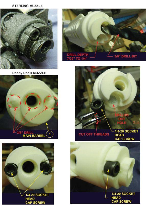 Muzzle screws mod