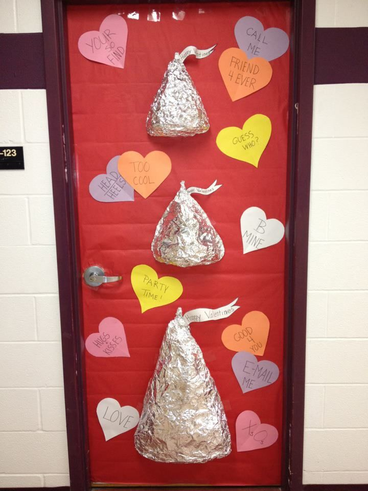 valentine's day decorations ideas | ... Smart Special Hearts: Door Decorations from the year and first post