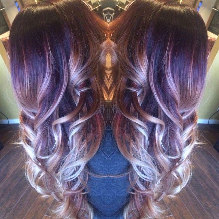 Best 25+ Red violet highlights ideas on Pinterest