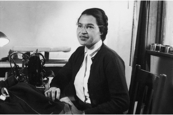 100 Women Who Changed The World Rosa Parks Powerful Women