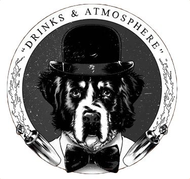 dog in a hat logo