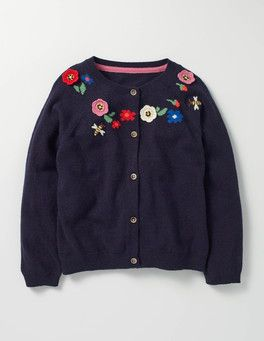 Crochet Floral Cardigan Boden