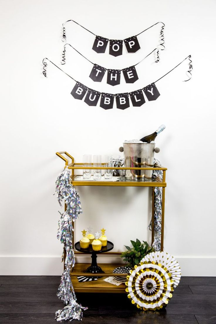 Printable New Years Eve Party Banner Let's Mingle Blog