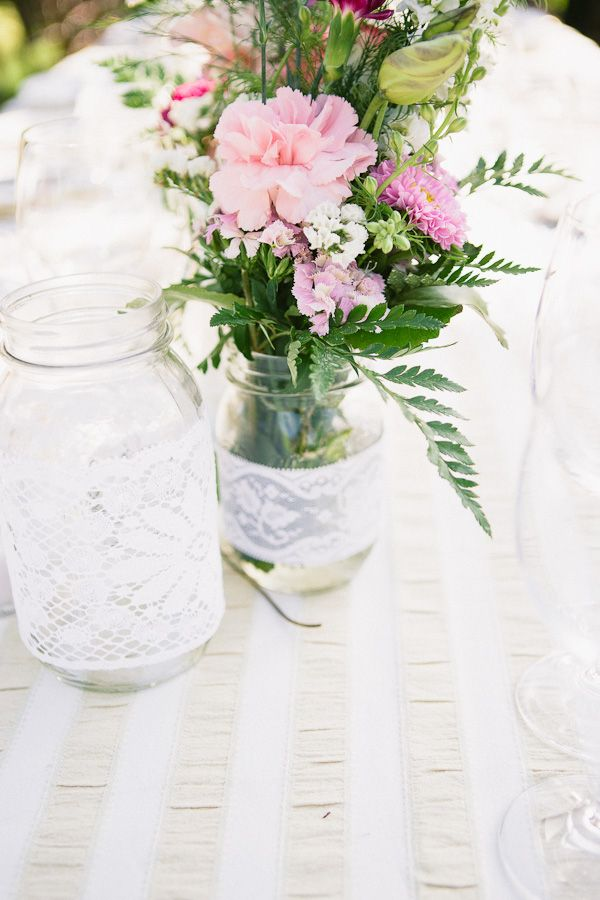 Western Paso Robles Wedding Reception Decor Wedding