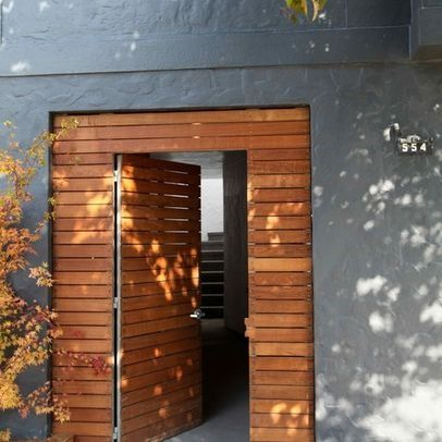 Image result for modern front door ipe