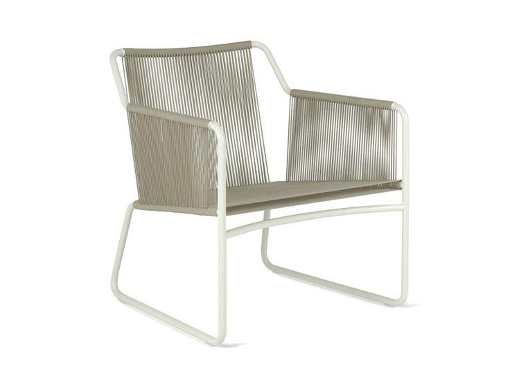 Stainless Steel Garden Armchair With Armrests HARP By RODA | Design Rodolfo  Dordoni