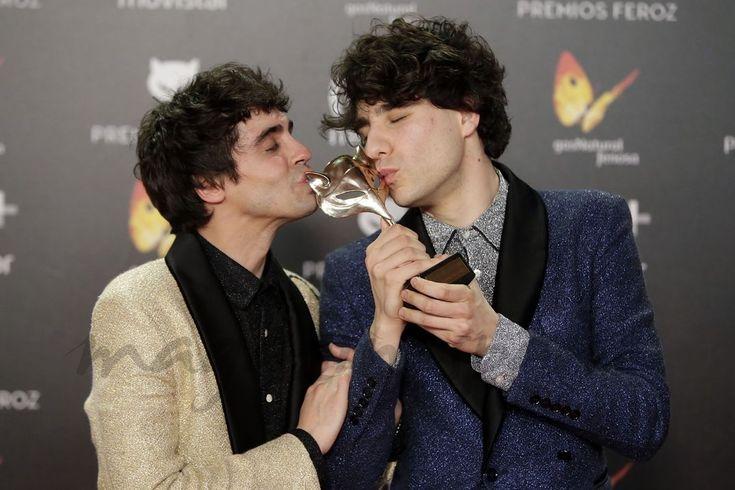 Los grandes triunfadores de los Premios Feroz 2018  Javier Ambrossi y Javier Calvo