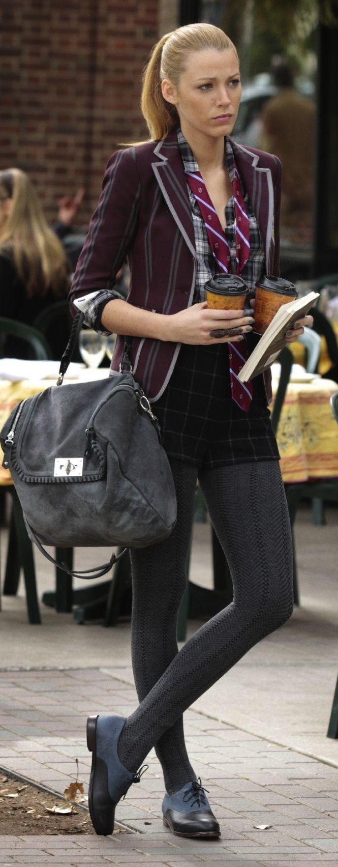 Serena van der Woodsen. 'Gossip Girl' S2. Costume Designer: Eric Daman