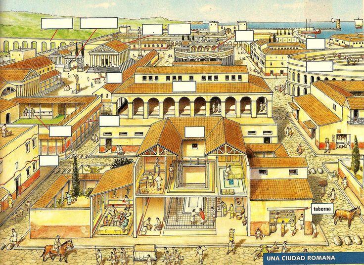 reconstruction of a typical Roman town follow me on twitter: https://twitter.com/mastersscholar
