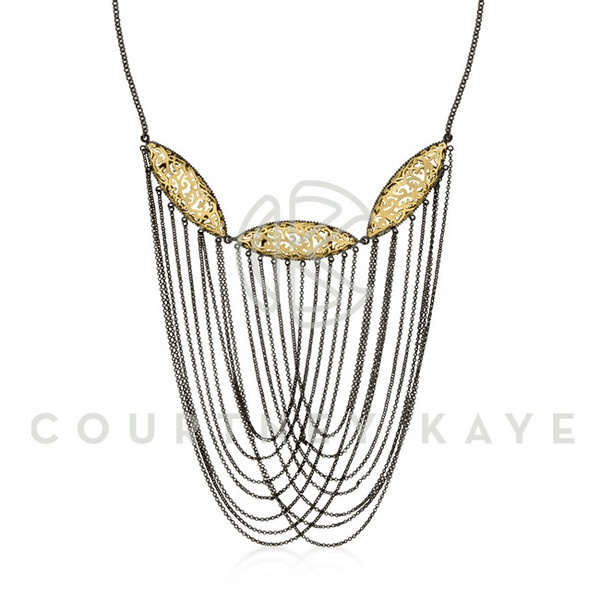 Loving Courtney Kaye originality when it comes to designing. This is one of a kind. perfect with a scope neck top or dress.