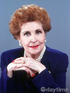Myrtle Fairgate (Eileen Herlie) I loved her on the show. R.I.P.