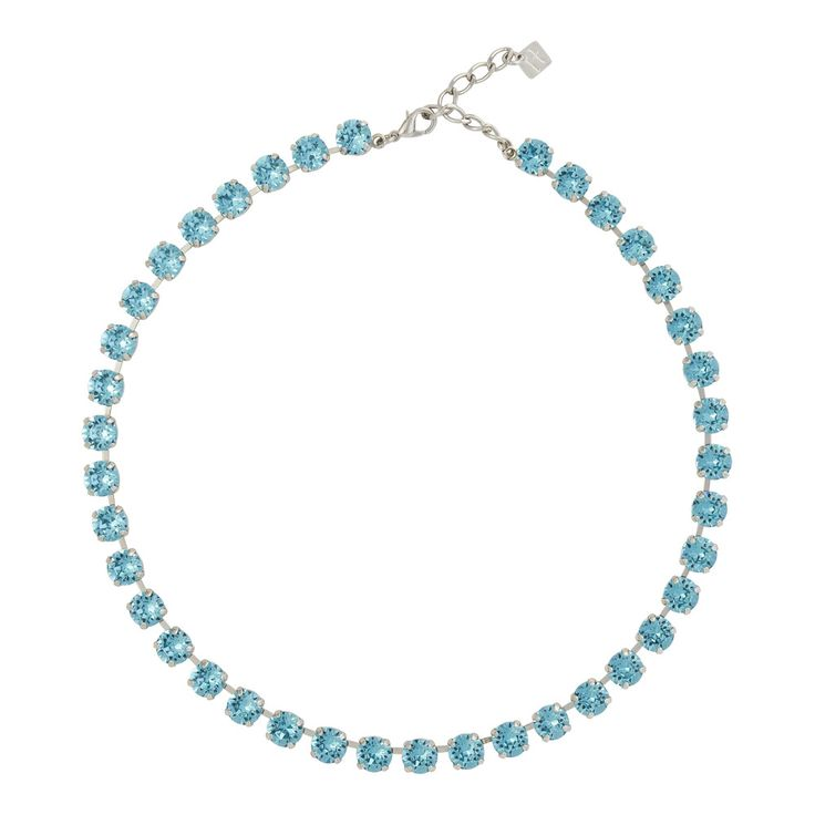 Small Crystal Necklet in Swarovski Crystal