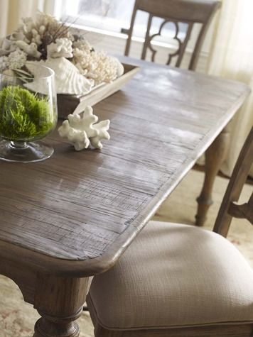 Weatherford Weathersford Canterbury Rectangular Leg Dining Table | Kincaid  | Home Gallery Stores