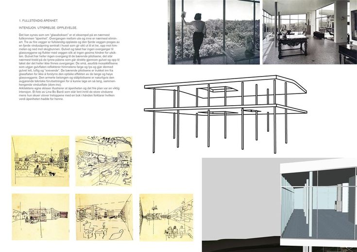 Jon Mannsåker » MODERN ARCHITECTURE Analysis. 3D Drawing Course. Case: Casa di Vidrio by Lina Bo Bardi (1951). 1st Year GK2. January 2009. Team: Håvard Janbu Haukeland
