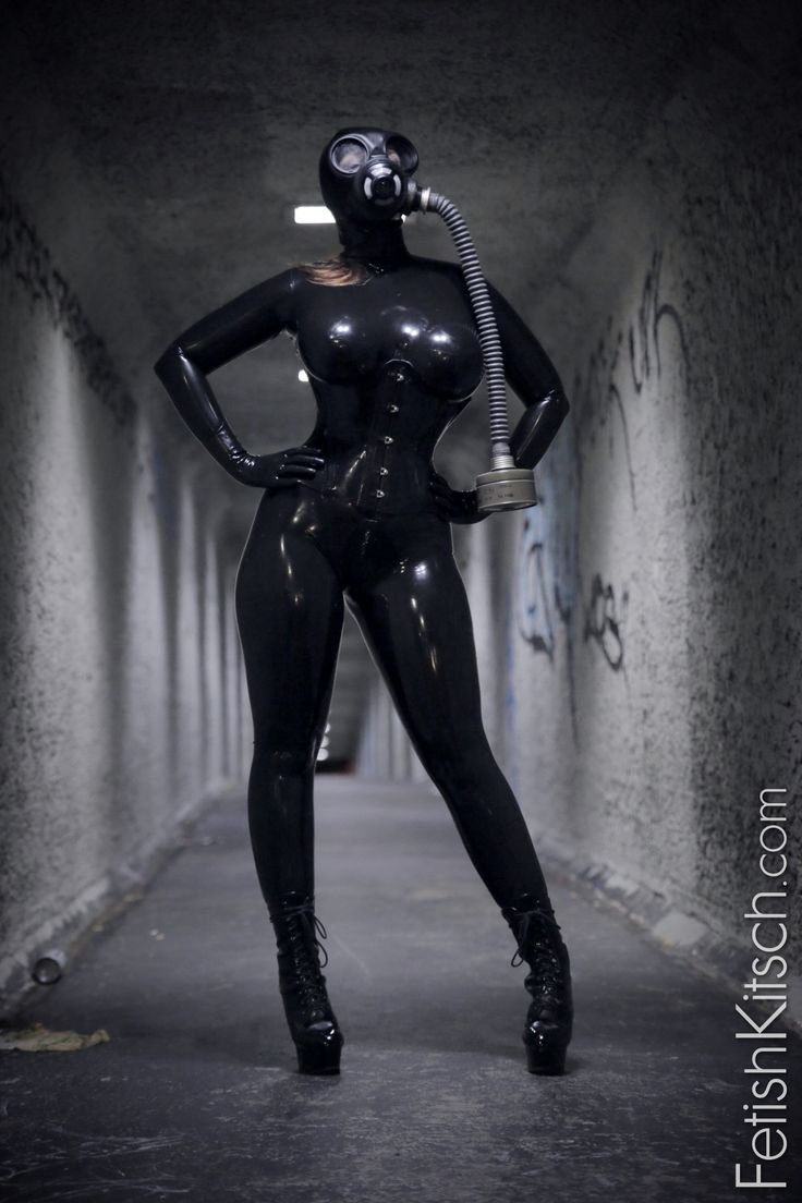 Latex cat suit stories