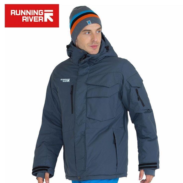 85.54$  Buy here - RUNNING RIVER Brand Waterproof Jacket For Men Ski Suit Set Men Snowboard Jacket  Male Ski Clothing #A3268   #magazineonlinewebsite