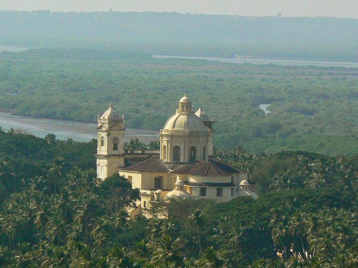 Old Goa, India.