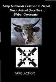 Stop Gadhimai Festival in  Nepal, Mass Animal Sacrifice . Global Comments - copertina