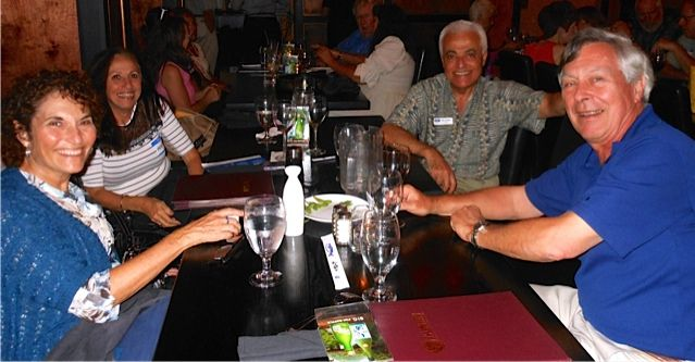 Attendees at the Tsunami Meet & Greet in downtown Sarasota in November 2013