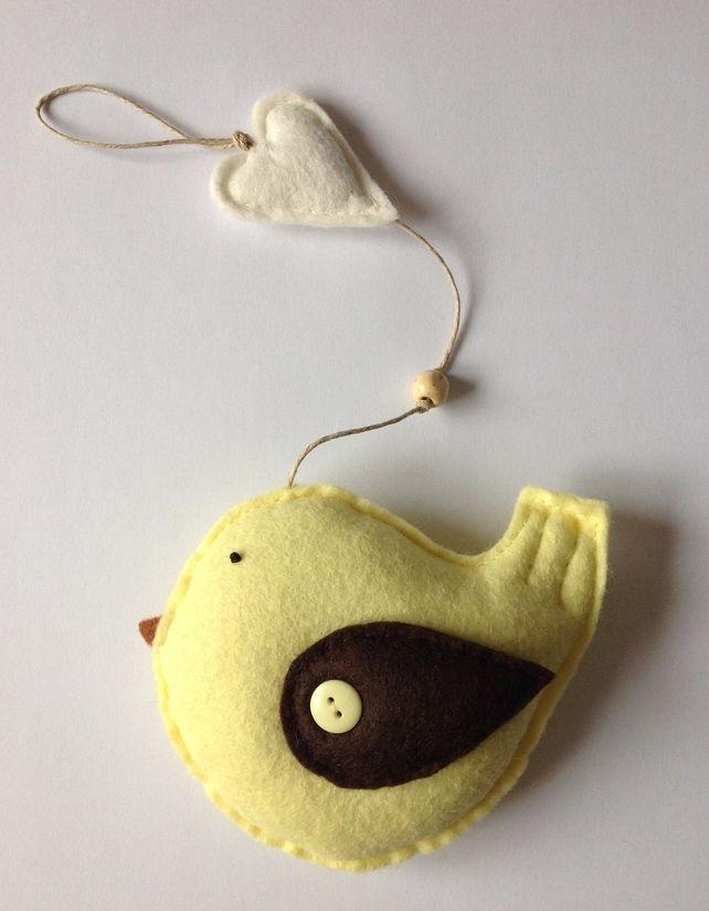 Little Spring Bird Hanging Ornament £8.00